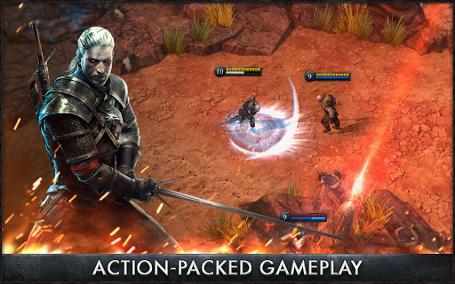 Screenshot 1: The Witcher Battle Arena