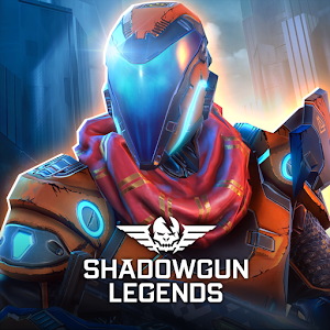 Icon: SHADOWGUN LEGENDS - FPS PvP and Coop Shooting Game