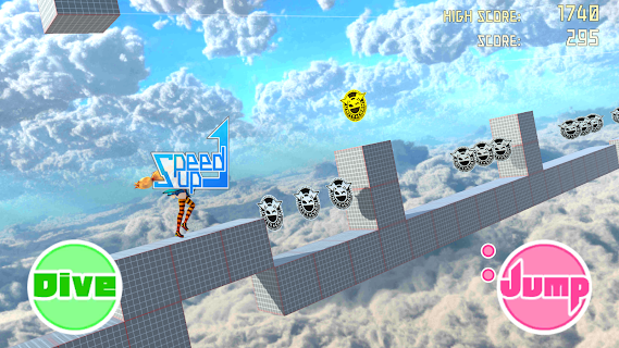 Screenshot 2: Unity-Chan Dash!