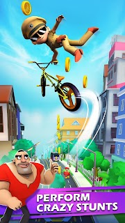 Screenshot 4: Little Singham Cycle Race
