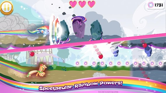 Screenshot 4: My Little Pony Rainbow Runners