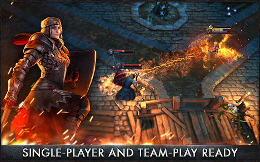 Screenshot 2: The Witcher Battle Arena