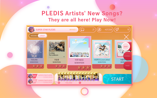 Screenshot 4: SuperStar PLEDIS | 韓文版