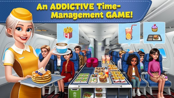 Screenshot 1: Airplane Chefs - Cooking Game