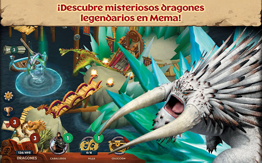 Screenshot 4: Dragones: El resurgir de Mema