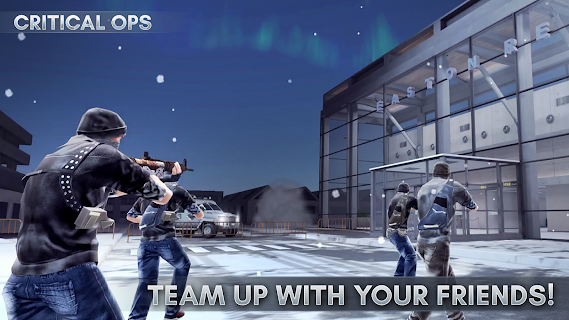 Screenshot 1: Critical Ops