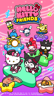 Screenshot 4: Hello Kitty Friends - Tap & Pop, Adorable Puzzles