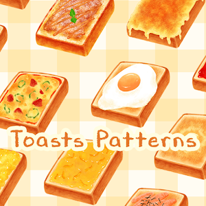 Icon: Food Wallpaper Toasts Patterns Theme