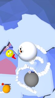 Screenshot 3: Snow Roll.io