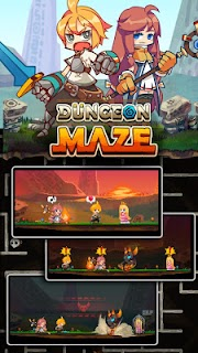 Screenshot 4: Dungeon Maze.io