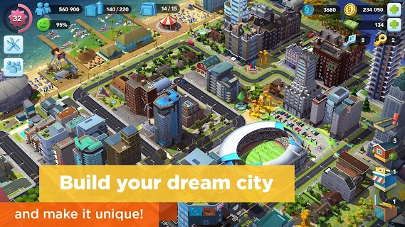 Screenshot 1: SimCity BuildIt