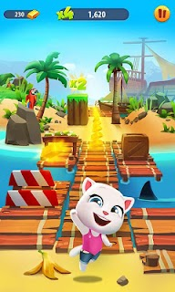 Screenshot 2: Talking Tom Gold Run 3D Game
