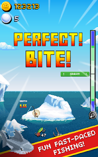 Screenshot 2: Desert Island Fishing