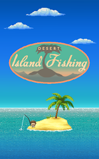 Screenshot 1: Desert Island Fishing
