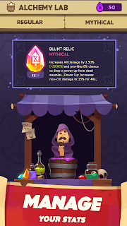 Screenshot 3: Almost a Hero - Idle RPG Clicker