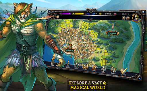 Screenshot 4: Dawn of the Dragons: Ascension - Turn based RPG