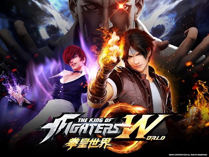 Screenshot 1: The King of Fighters: World