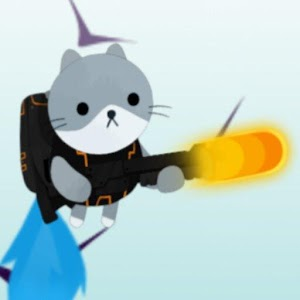 Icon: Cat with a gun