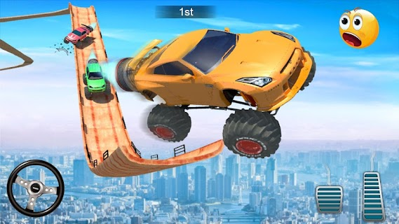 Screenshot 3: Mega Ramp V - Car Stunts