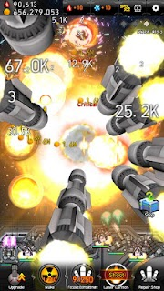 Screenshot 2: Galaxy Missile War