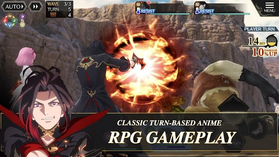 Screenshot 3: Tales of Crestoria | Inglés