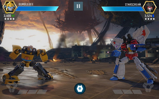 Screenshot 1: TRANSFORMERS: Forged to Fight