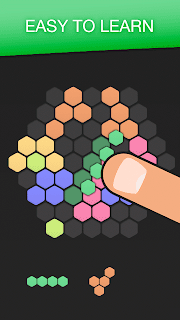 Screenshot 1: Hex FRVR