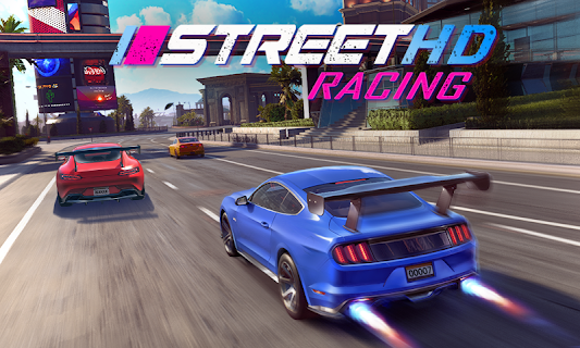 Screenshot 1: Street Racing HD