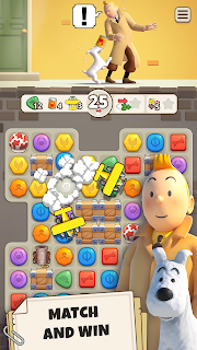 Screenshot 2: Tintin Match