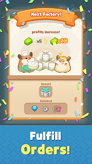 Screenshot 3: Hamster's Cake Factory