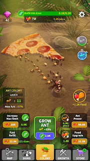 Screenshot 2: Little Ant Colony - Idle Game