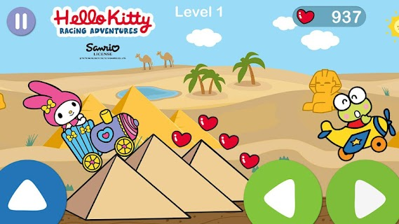Screenshot 4: Hello Kitty juego de aventura de carreras