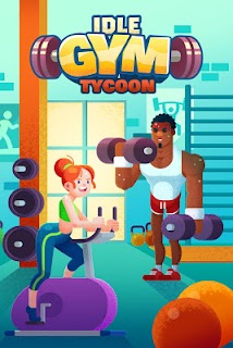 Screenshot 1: Idle Fitness Gym Tycoon