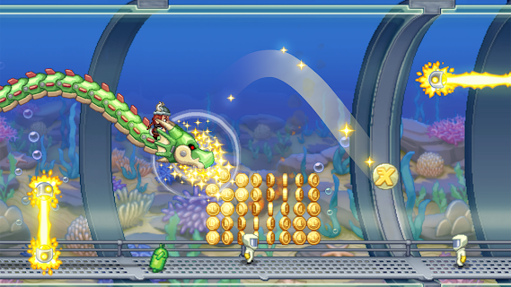 Screenshot 1: Jetpack Joyride