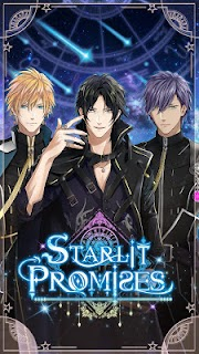 Screenshot 1: Starlit Promises: Romance Otome Game