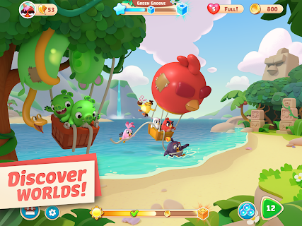 Screenshot 2: Angry Birds Journey