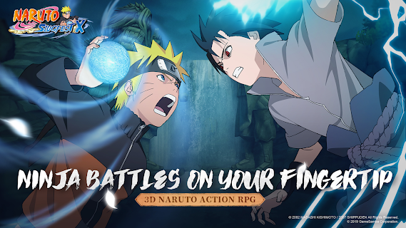 Screenshot 1: Naruto:SlugfestX