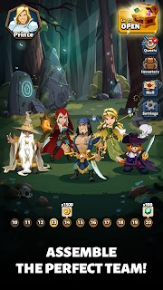 Screenshot 3: Fable Wars: Epic Puzzle RPG
