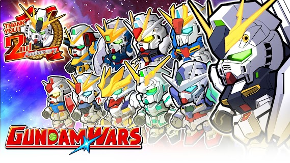 Screenshot 1: LINE Gundam Wars