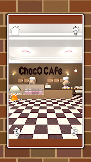 Screenshot 1: Sweets Cafe -Escape Game-