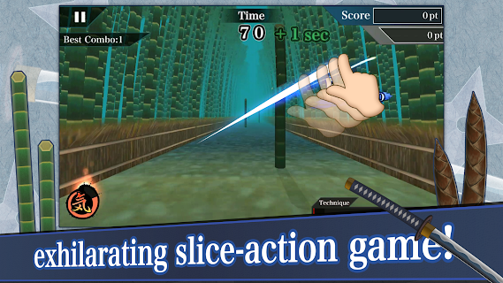 Screenshot 1: Samurai Sword