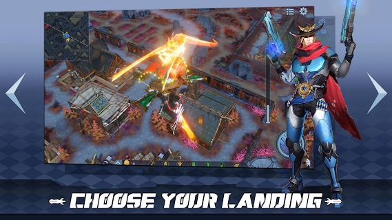 Screenshot 3: Survival Heroes - MOBA Battle Royale