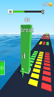Screenshot 1: Stack Colors!