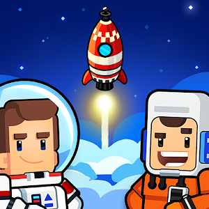 Icon: Rocket Star - Idle Space Factory Tycoon