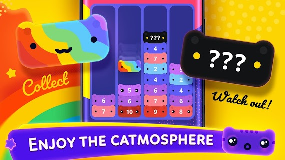 Screenshot 3: Catris - Merge Cat | Kitty Merging Game
