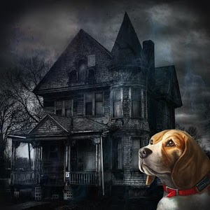 Icon: Lost dog: Scary house of horror and fear.