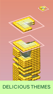 Screenshot 3: Juicy Stack - 3D Tile Puzzlе