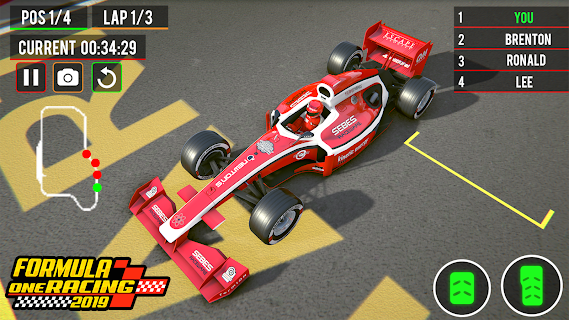 Screenshot 1: Top Speed Formula Car Racing: New Car Games 2020