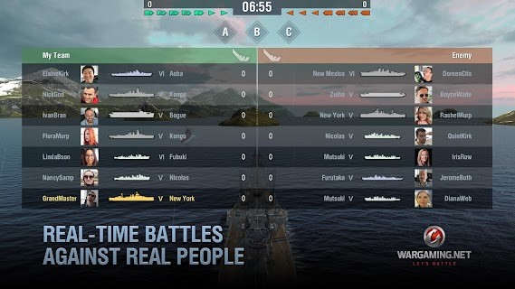Screenshot 4: World of Warships Blitz: Gunship Action War Game