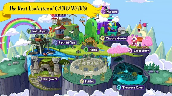 Screenshot 1: Card Wars Kingdom